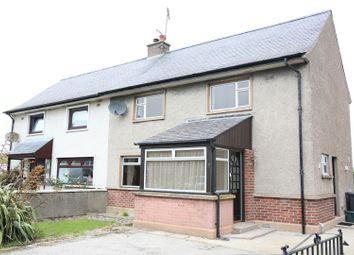 Thumbnail 3 bedroom semi-detached house for sale in The Bents, Banff, Aberdeenshire