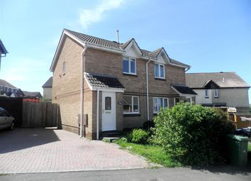Thumbnail 2 bedroom semi-detached house to rent in Coleman Drive, Plymstock, Plymouth