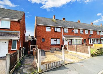 Thumbnail 1 bed end terrace house for sale in Margam Crescent, Bloxwich, Walsall
