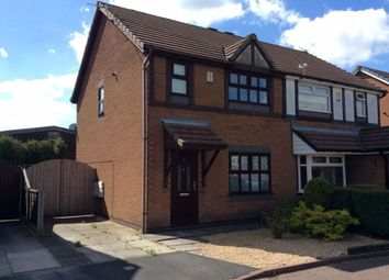 Thumbnail 2 bed semi-detached house to rent in Amethyst Close, Aspull, Wigan