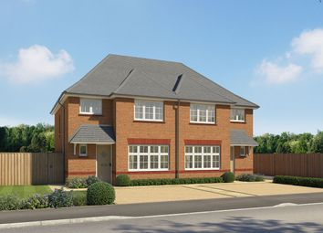 "Thumbnail 3 bed semi-detached house for sale in ""Ludlow"" at Kentidge Way, Waterlooville"
