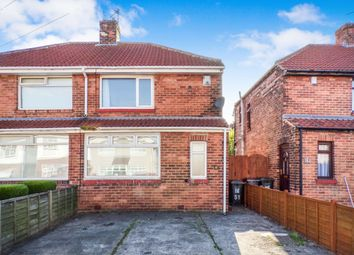 Thumbnail 2 bed semi-detached house to rent in Exeter Road, Wallsend