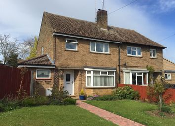 Thumbnail 3 bed semi-detached house for sale in Wood Road, Kings Cliffe, Peterborough
