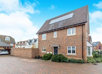 Thumbnail 3 bed detached house for sale in Shrubwood Close, Harrietsham, Maidstone
