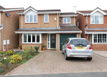 Thumbnail 4 bed detached house for sale in Woburn Close, Market Deeping, Lincolnshire