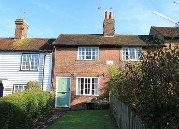 Thumbnail 2 bed terraced house to rent in The Hill, Cranbrook, Kent