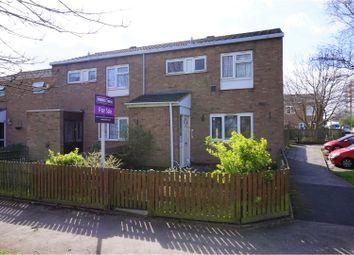 Thumbnail 2 bedroom end terrace house for sale in Marton Close, Birmingham
