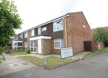 Thumbnail 1 bed maisonette for sale in Telscombe Way, Luton