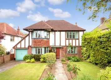 Thumbnail 3 bed detached house for sale in Walkfield Drive, Epsom