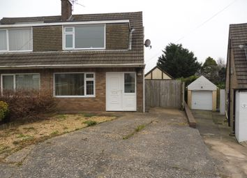 Thumbnail 3 bed semi-detached house for sale in Highbury Crescent, Cefn Glas, Bridgend