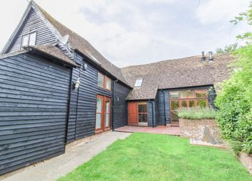 Thumbnail 4 bed barn conversion for sale in Wherwell, Andover, Hampshire