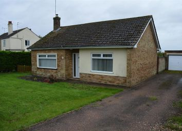 Thumbnail 2 bed detached bungalow for sale in St. Johns Road, Tilney St. Lawrence, King's Lynn