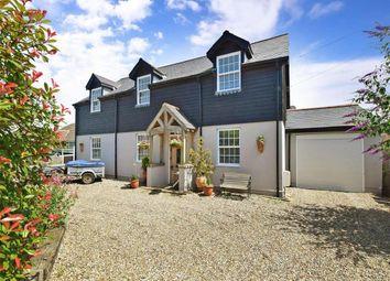 Thumbnail 4 bed detached house for sale in Capel Street, Capel-Le-Ferne, Folkestone, Kent