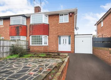 Thumbnail 3 bedroom semi-detached house for sale in Rolleston Drive, Arnold, Nottingham