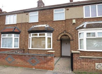 Thumbnail 3 bed terraced house for sale in Northfield Road, Peterborough