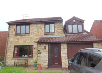 Thumbnail 4 bed detached house for sale in Togston Court, North Broomhill, Morpeth