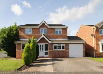 Thumbnail 4 bed detached house for sale in Wellesley Close, Newton-Le-Willows