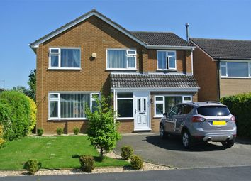 Thumbnail 4 bed detached house for sale in Poplar Crescent, Bourne, Lincolnshire