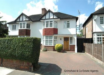 Thumbnail 3 bed semi-detached house for sale in Pierrepoint Road, West Acton, London