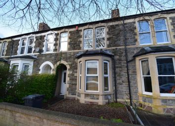 Thumbnail 4 bedroom terraced house for sale in Stacey Road, Roath, Cardiff