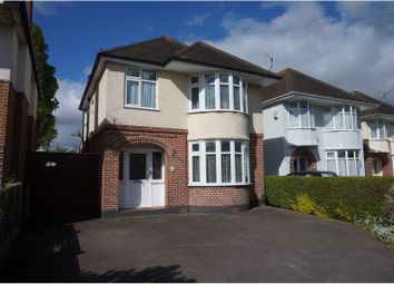 Thumbnail 3 bed detached house for sale in Leybourne Avenue, Bournemouth