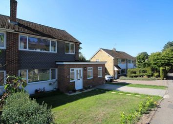 Thumbnail 3 bed semi-detached house for sale in Orchard Close, Woolhampton, Reading