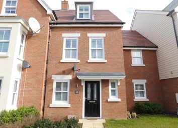 Thumbnail 4 bed terraced house for sale in Walker Mead, Biggleswade, Beds