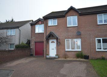 Thumbnail 4 bed semi-detached house for sale in Byan Close, Threemilestone, Truro