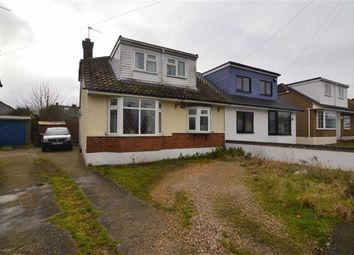 Thumbnail 3 bed semi-detached house for sale in Elmstead Close, Corringham, Essex