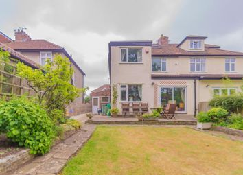 Thumbnail 4 bed semi-detached house for sale in Lampeter Road, Westbury-On-Trym, Bristol