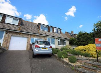 Thumbnail 3 bed semi-detached bungalow for sale in Churchward Avenue, Weymouth, Dorset