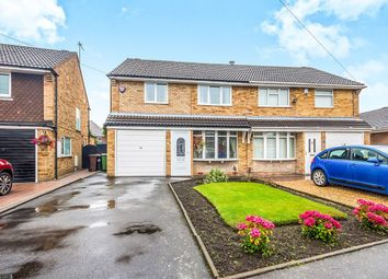 Thumbnail 3 bed semi-detached house for sale in Robin Grove, Wednesfield, Wolverhampton