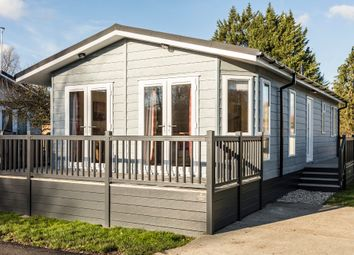 Thumbnail 2 bed lodge for sale in Roydon, Harlow