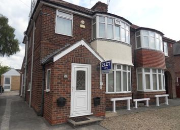 Thumbnail 5 bed shared accommodation to rent in Asquith Avenue, York