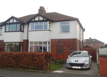 Thumbnail 3 bed semi-detached house for sale in Oakwood Drive, Fulwood, Preston