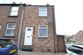 Thumbnail 2 bed end terrace house for sale in Pierce Street, Macclesfield