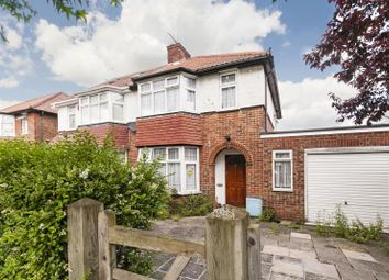 Thumbnail 3 bed semi-detached house for sale in Pennine Drive, Golders Green Estate, London