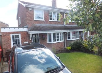 Thumbnail 4 bed semi-detached house for sale in The Pastures, Mansfield Woodhouse