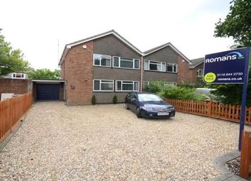 Thumbnail 4 bed semi-detached house for sale in Tippings Lane, Woodley, Reading