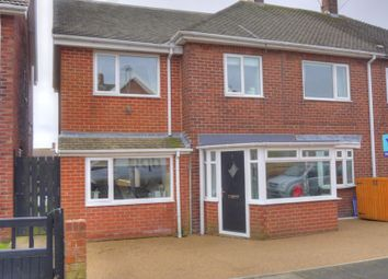 Thumbnail 4 bed semi-detached house for sale in Walton Drive, Choppington