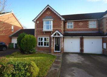 Thumbnail 3 bed semi-detached house for sale in Hadleigh Close, Great Sankey, Warrington