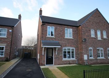 Thumbnail 2 bed semi-detached house for sale in Foundry Way, Leeming Bar, Northallerton