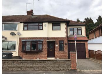 Thumbnail 4 bed semi-detached house for sale in Markfield Road, Leicester