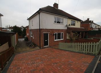 Thumbnail 3 bed semi-detached house for sale in Glenfield Crescent, Glenfield, Leicester