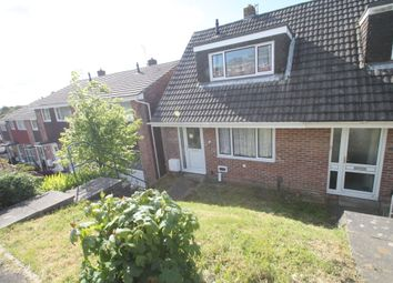 Thumbnail 2 bedroom end terrace house for sale in Speedwell Crescent, Plymouth