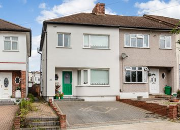 Thumbnail 3 bed end terrace house for sale in Hillfoot Road, Romford, London