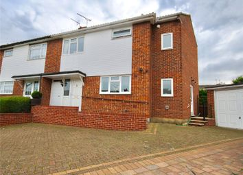 Thumbnail 4 bedroom semi-detached house for sale in Canford Close, Chelmsford, Essex