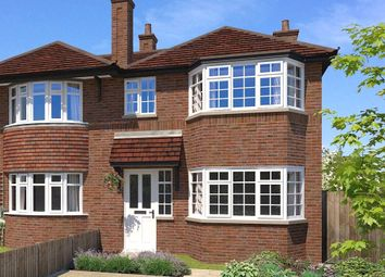 Thumbnail 3 bed semi-detached house for sale in Mayfield Road, Wooburn Green, Bucks