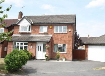 Thumbnail 4 bed detached house for sale in Somerset Drive, Glenfield, Leicester