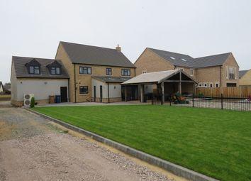 Thumbnail 4 bed detached house for sale in Feldale Lane, Coates, Peterborough